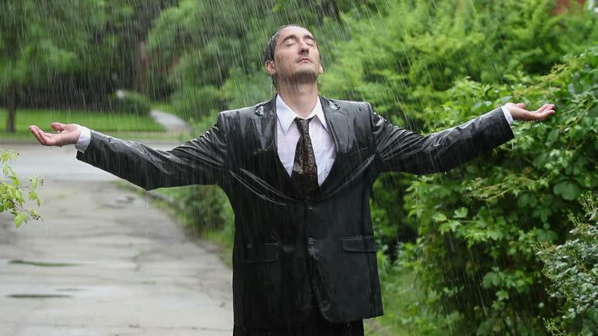 bring neither the umbrella nor the raincoat