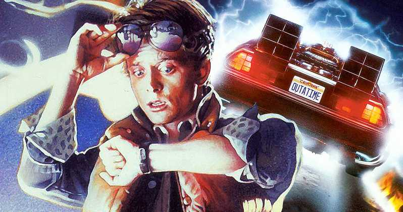 Back to the Future trilogy is already more than thirty years (ago) to now.