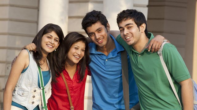 Indian students in China