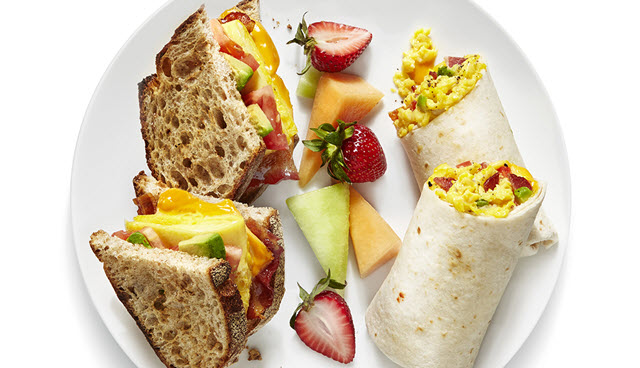 good breakfast on HSK test day