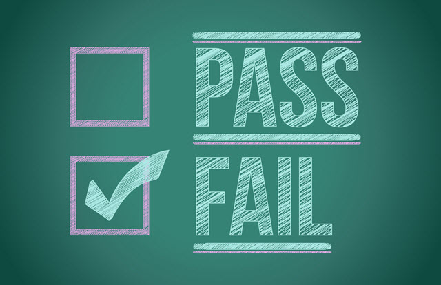 pass or fail HSK test