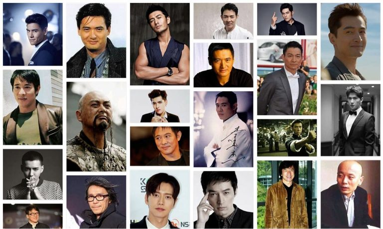 most popular Chinese actors