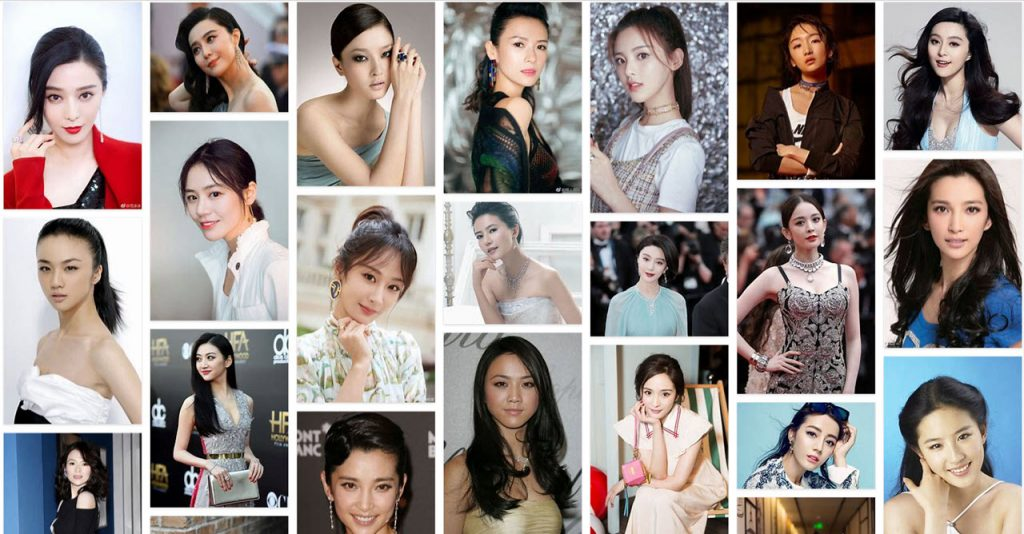most popular Chinese actresses