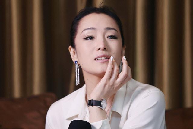 top Chinese actress Gong Li