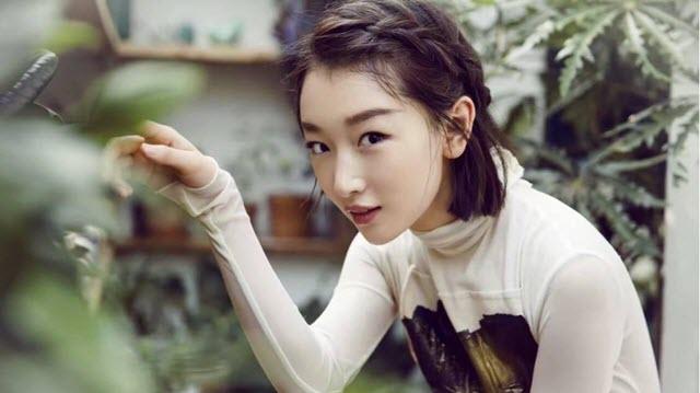 top Chinese actress Zhou Dongyu