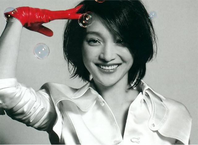 op Chinese actress Zhou Xun